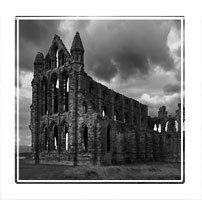 The Abbey in Whitby, North Yorkshire
