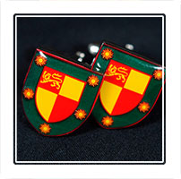 AGSB cufflinks, sold as part of the schools centenery celebrations in 2012