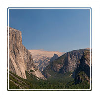 El-Capitan, a vertical rock formation in Yosemite National park,California USA